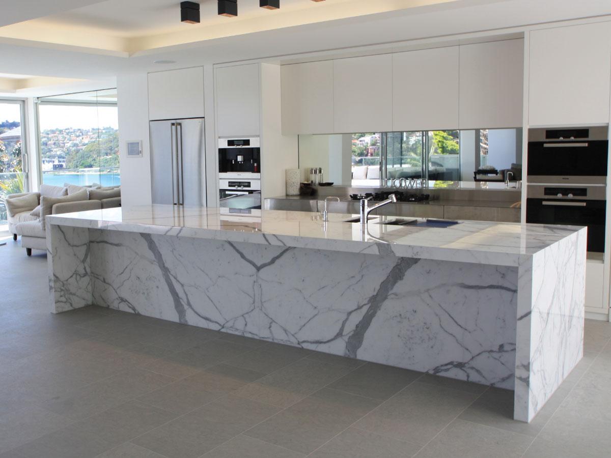 Encimera de m rmol en barcelona marbres barcelona - Encimera marmol ...