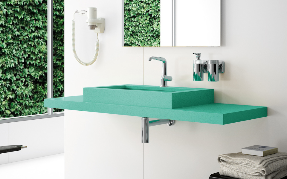 Escoge silestone para las encimeras del ba o marbres barcelona - Encimera bano silestone ...