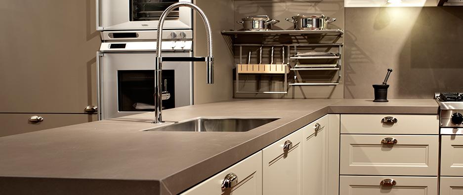 variedad de materiales para la encimera de tu cocina