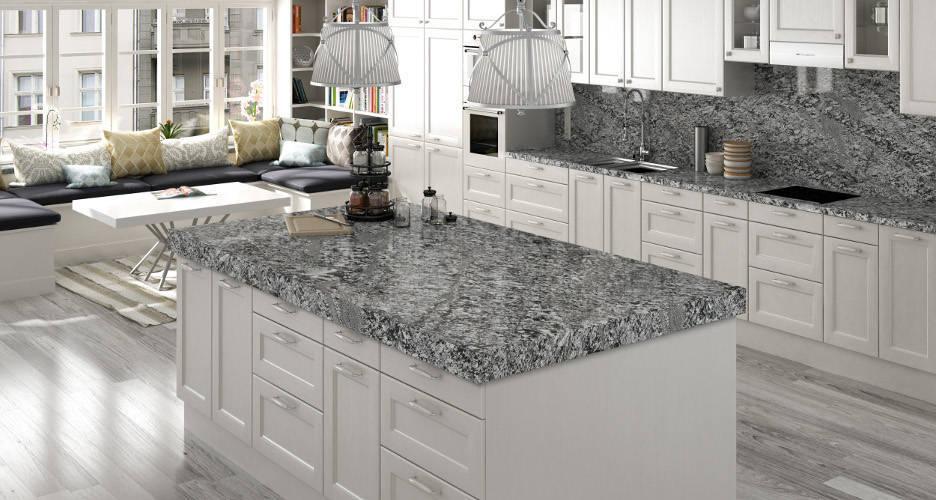Ventajas de las encimeras de granito marbres barcelona for Encimera cocina marmol o granito